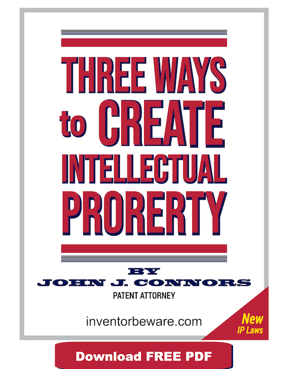 three ways to create intellectual property